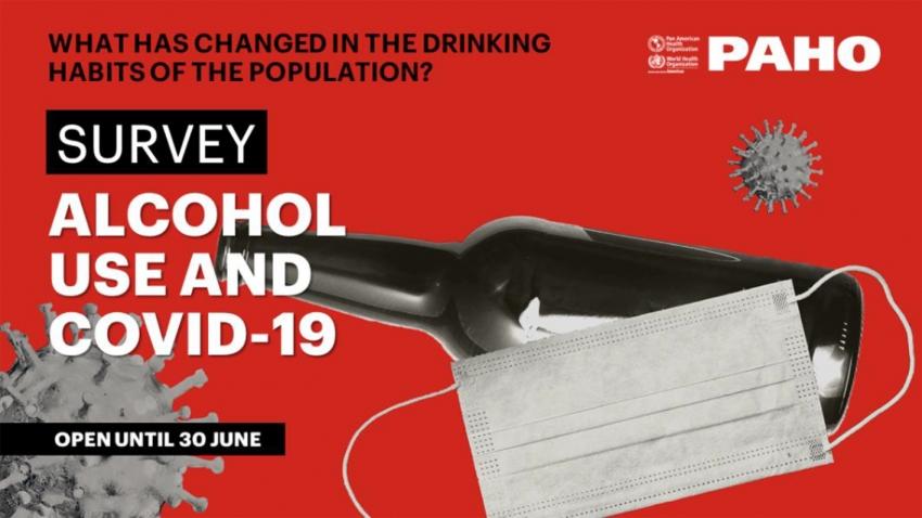 Uso de álcool durante a pandemia de COVID-19 na América Latina e no Caribe
