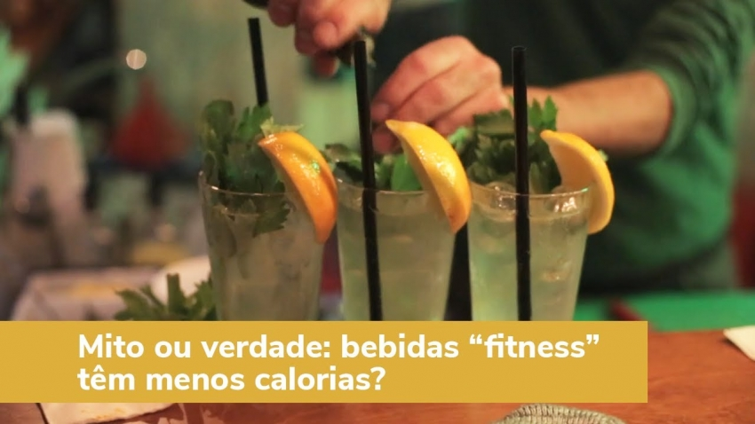 Bebidas fitness têm menos calorias?