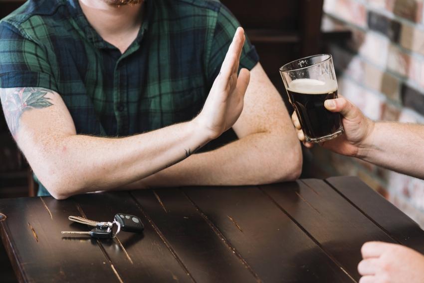 Como parar de beber?